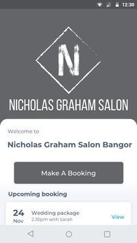 Nicholas Graham Salon Bangor poster