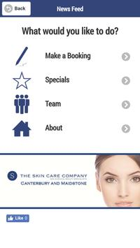 Skin Care Co Kent Book Now poster