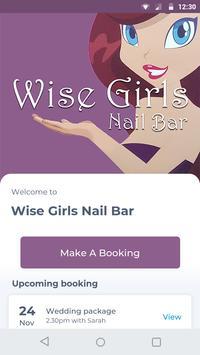 Wise Girls Nail Bar poster