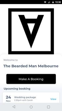 The Bearded Man Melbourne poster