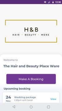 The Hair and Beauty Place Ware poster