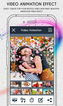 Photo Effect Animation Video screenshot 9