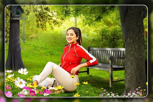Nature Photo Frame:Natural  Photo Editor poster
