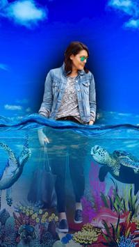 3D Water Effect Photo Maker 2019 screenshot 2