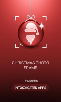 Christmas Photo Frames Stickers & Art poster