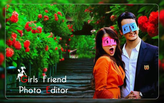 Girl Friend photo editor 2019 - GF photo frame poster