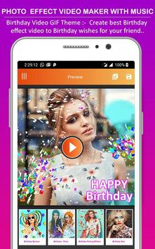Photo Effect Animated Video Maker : Photo To Video screenshot 4