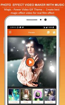 Photo Effect Animated Video Maker : Photo To Video screenshot 5