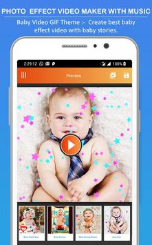 Photo Effect Animated Video Maker : Photo To Video screenshot 6