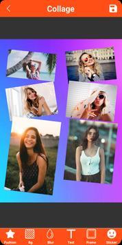 Colagem de fotos, molduras, editor de fotos imagem de tela 5