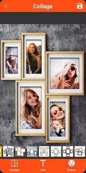 Colagem de fotos, molduras, editor de fotos imagem de tela 9