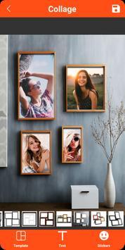 Colagem de fotos, molduras, editor de fotos imagem de tela 19