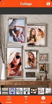 Colagem de fotos, molduras, editor de fotos imagem de tela 20