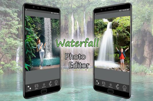 Waterfall Photo Frame for Android - APK Download