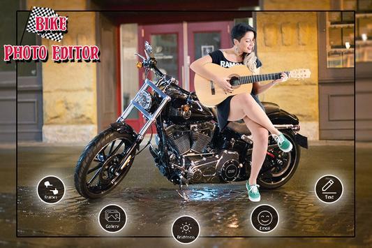 Bike Photo Frame screenshot 1