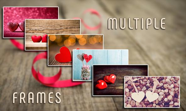 Love Hearts Photo Frames poster