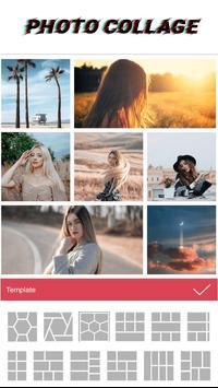 Collage Maker - Grid Photo Square Art Pic Collage Ekran Görüntüsü 1