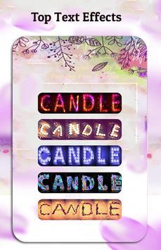 Name Art : Write your name with a candles Shape screenshot 10