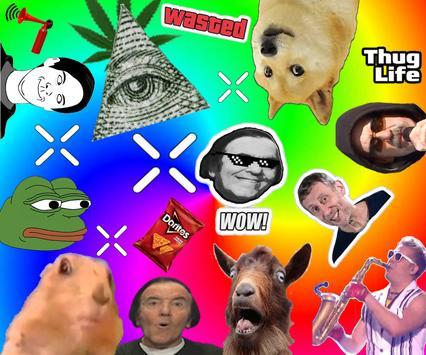 Dank Memes Photo Studio illuminati Sticker screenshot 1