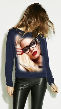 Girl T Shirt Photo Frame screenshot 5