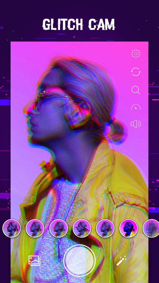 Glitch Photo Effects Vhs Camcorder Vaporwave For Android Apk