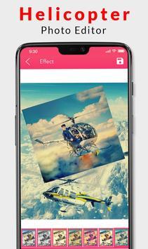 Helicopter Photo Editor 2019 screenshot 3