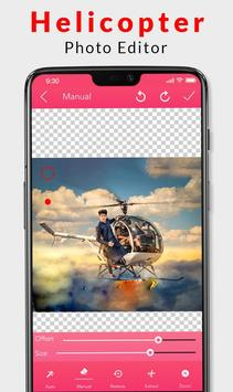 Helicopter Photo Editor 2019 poster