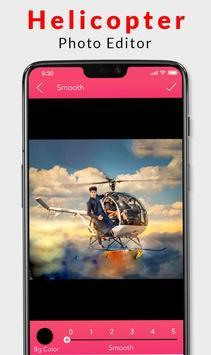 Helicopter Photo Editor 2019 screenshot 1