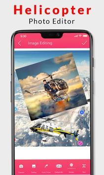 Helicopter Photo Editor 2019 screenshot 2