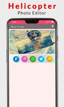 Helicopter Photo Editor 2019 screenshot 4