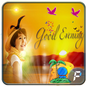 Good Evening Photo Frames icon