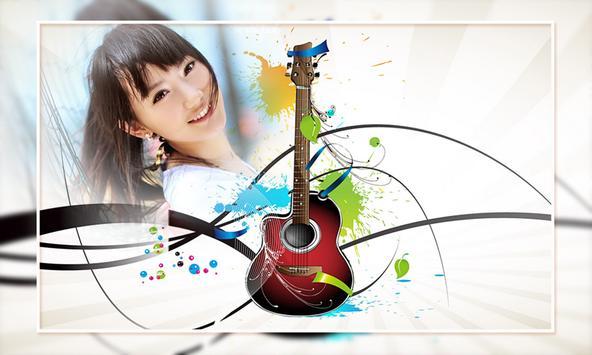 Guitar Photo Frames poster
