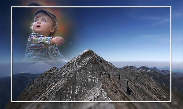 Mountain Photo Frames poster
