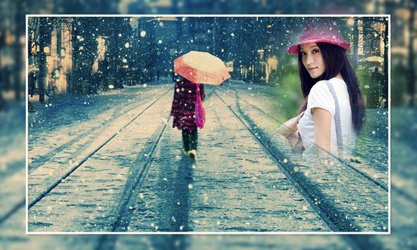 Rain Photo Frames poster