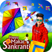 Makar Sankranti Photo Editor icon