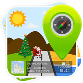 GPS Map Stamp icon