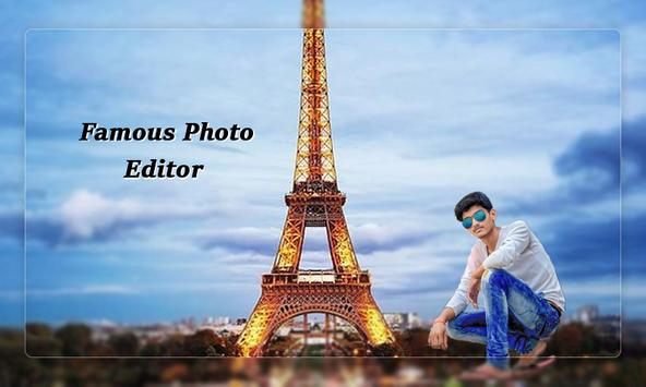 Famous Photo Editor  : Photo With Famous Place poster