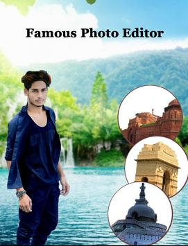 Famous Photo Editor  : Photo With Famous Place screenshot 2