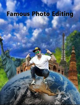 Famous Photo Editor  : Photo With Famous Place screenshot 3