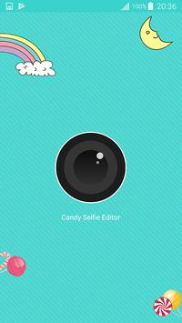 Candy selfie camera - snappy photo poster