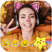 Sweet photo editor : Snappy Face Filter, Stickers icon