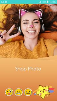 Sweet photo editor : Snappy Face Filter, Stickers poster