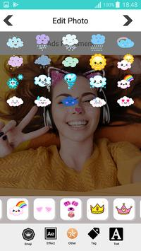 Sweet photo editor : Snappy Face Filter, Stickers screenshot 13