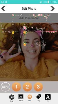 Sweet photo editor : Snappy Face Filter, Stickers screenshot 14