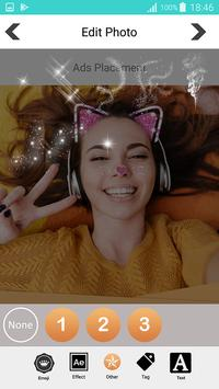Sweet photo editor : Snappy Face Filter, Stickers screenshot 15