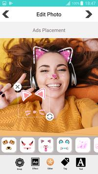 Sweet photo editor : Snappy Face Filter, Stickers screenshot 20