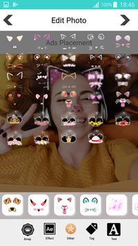 Sweet photo editor : Snappy Face Filter, Stickers screenshot 3