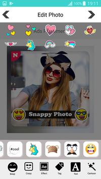 Snappy photo filters stickers screenshot 14