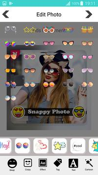 Snappy photo filters stickers screenshot 11