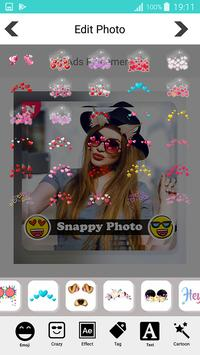 Snappy photo filters stickers screenshot 13
